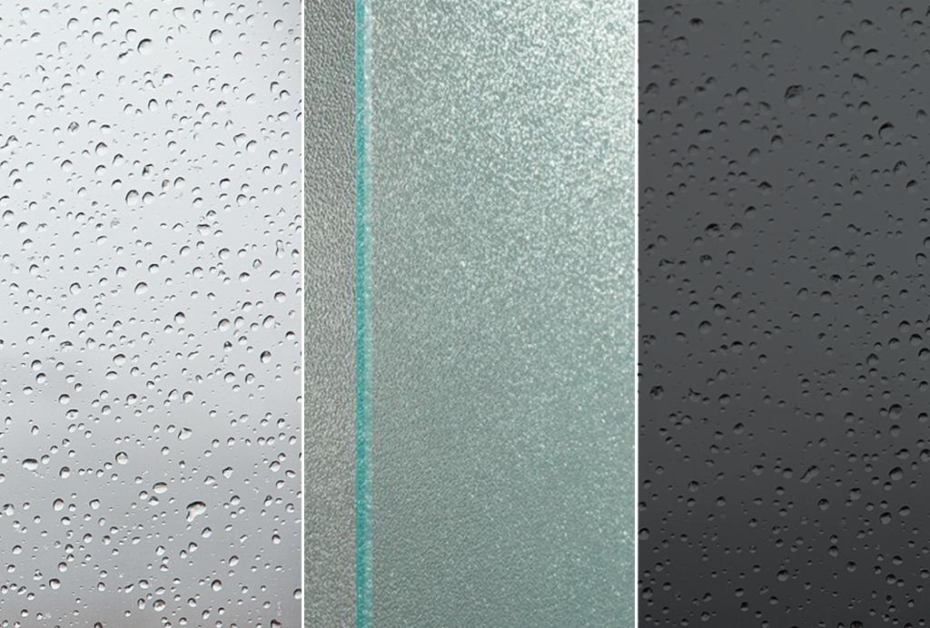 Vetri per cabine doccia boiserie in ceramica per bagno for Vetro sintetico leroy merlin
