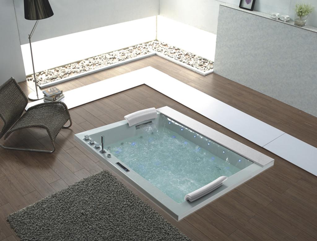 Vasca idromassaggio guida alla scelta del modello ideale - Vasca bagno dimensioni ...