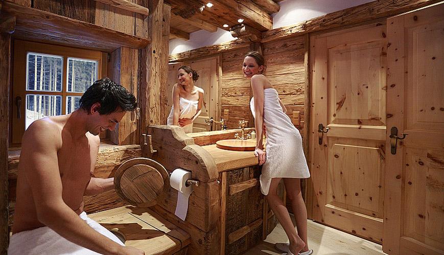 Il bagno del trentino alto adige come arredarlo in una for Arredamento trentino alto adige