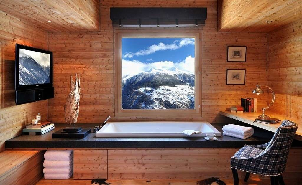 Il bagno del trentino alto adige come arredarlo in una for Piani di casa in stile artigiano di montagna