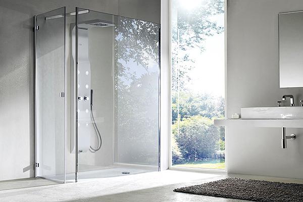 Creare una zona doccia su misura con box in crsitallo 8mm ...