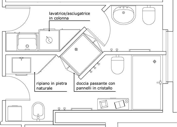 Come ristrutturare il bagno in una villa di lusso blog - Creare un bagno ...