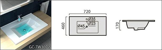 Lavabo TW3072