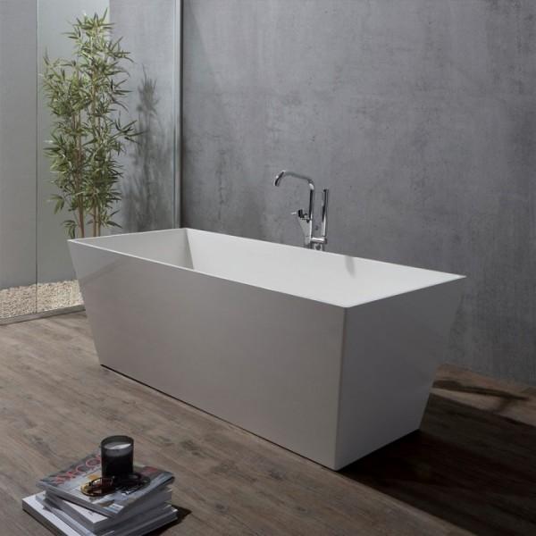 Vasca da bagno design forma squadrata qube - Vasca bagno design ...