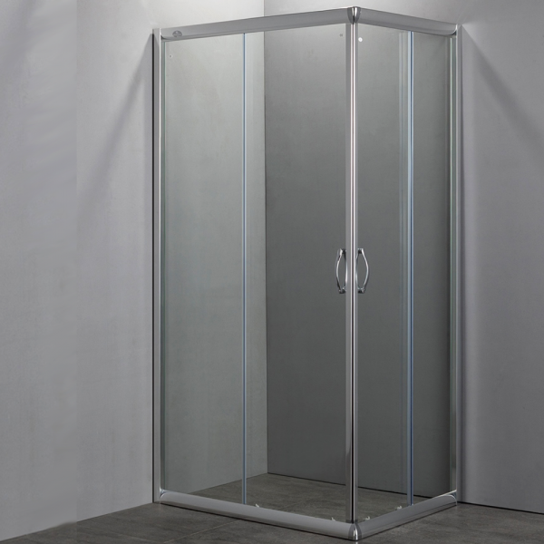 box doccia rettangolare easy cristallo 6mm 70x90 70x100 80x100 120x80. Black Bedroom Furniture Sets. Home Design Ideas