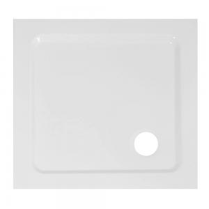 Piatto Doccia Acrilico Altezza 3cm Quadrato Ultraflat Bianco