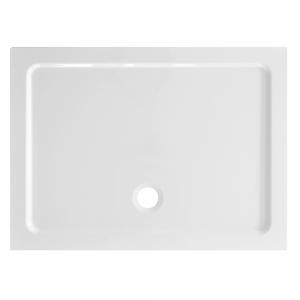 Piatto Doccia Acrilico Altezza 3cm Rettangolare Ultraflat Bianco