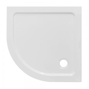 Piatto Doccia Acrilico Semicircolare Altezza 3cm Semicircolare Ultraflat Bianco