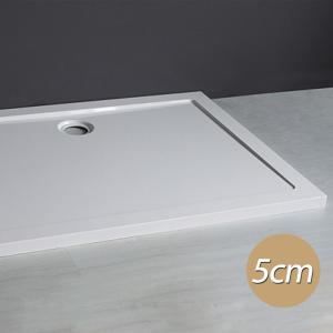 Piatto Doccia Rettangolare Bianco Altezza 5cm
