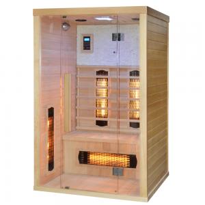 Sauna Finlandese a Infrarossi WELLNESS per 2 persone 120x110