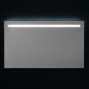 Specchio da Parete con Retroilluminazione Superiore a Led 120x70cm