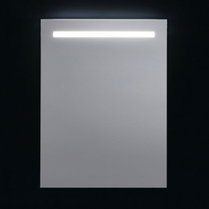 Specchio da Parete con Retroilluminazione Superiore a Led 60x80cm