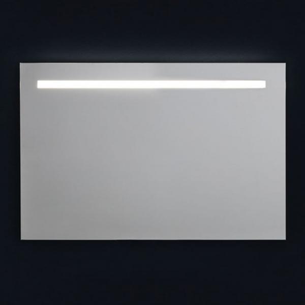 Specchio da Parete con Retroilluminazione Superiore a Led 90x60cm