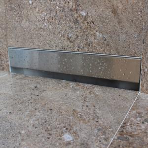 Canalina di Scarico a Muro in Acciaio INOX da 30cm e 70cm