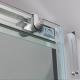 Box Doccia EVO apertura scorrevole Cristallo Temprato 6mm Trasparente o Satinato profili alluminio cromo