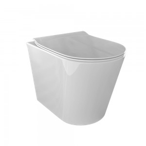 WC e Bidet OCEANO a Terra in ceramica di colore bianco