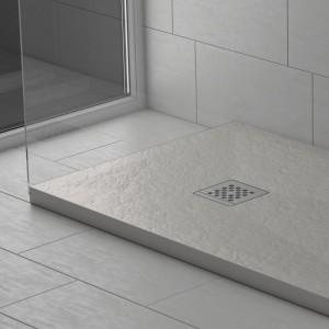 Piatto doccia mineralmarmo effetto pietra cemento Corallo