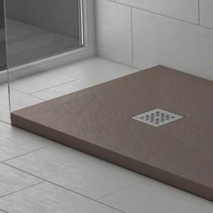 Piatto doccia mineralmarmo effetto pietra moka | Dolomite