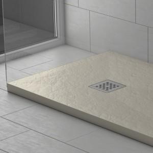 Piatto doccia mineralmarmo effetto pietra crema | Dolomite