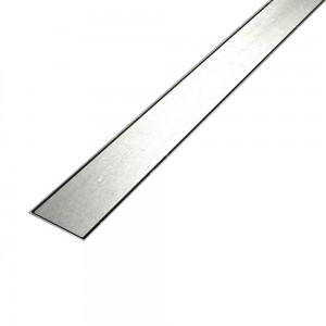 Canalina di Sarico Doccia FLAT in acciaio INOX 50 - 60 - 70 - 80 - 90 - 100