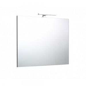 Specchio 80x70 reversibile con lampada a led di 30cm