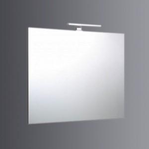 Specchio 90x70 reversibile con lampada a led di 30cm