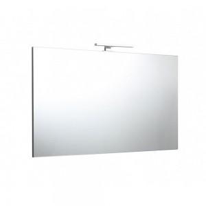 Specchio 120x70 reversibile con lampada a led di 30cm