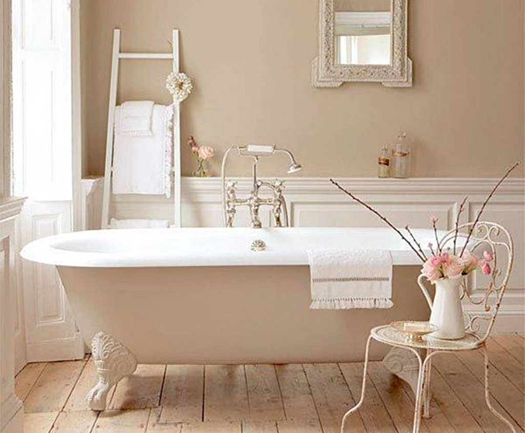 Awesome arredo bagno shabby chic pictures for Arredo shabby economico