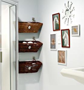Decorare la stanza da bagno: dico no alle spese eccessive di denaro ...