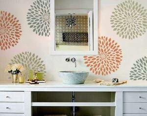Decorazione Pareti Bagno : Decorare la stanza da bagno: dico no alle spese eccessive di denaro