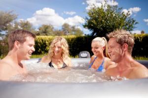 Vasca Da Esterno Riscaldata : Minipiscine da esterno caldo o freddo l idromassaggio per ogni