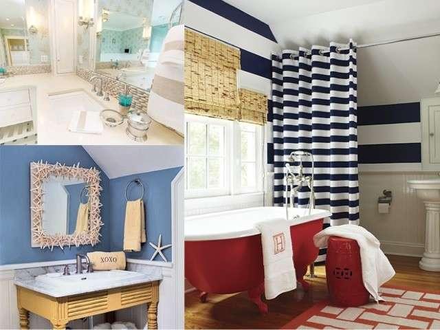Arredare il bagno con i colori dell estate stile bagno