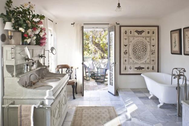 Arredare il bagno con i colori dell 39 estate blog stile bagno for Arredo bagno in stile provenzale