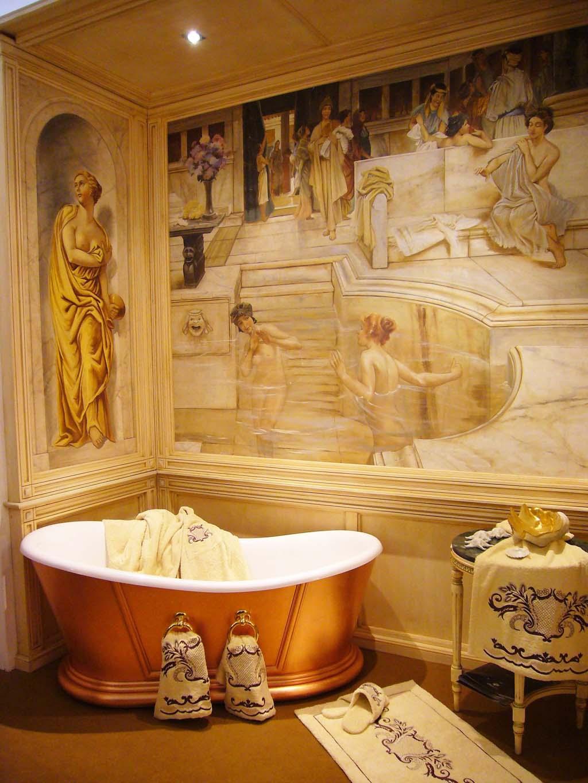 Il bagno nel lazio divertiti ricreando l 39 ambiente delle for Foto di case antiche