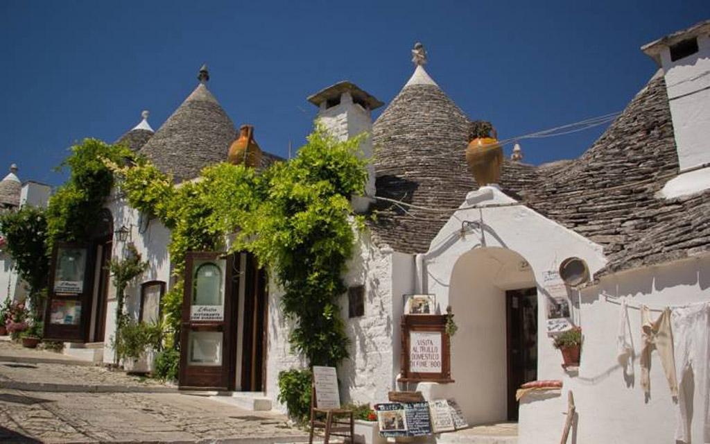 I Trulli tipici della Puglia
