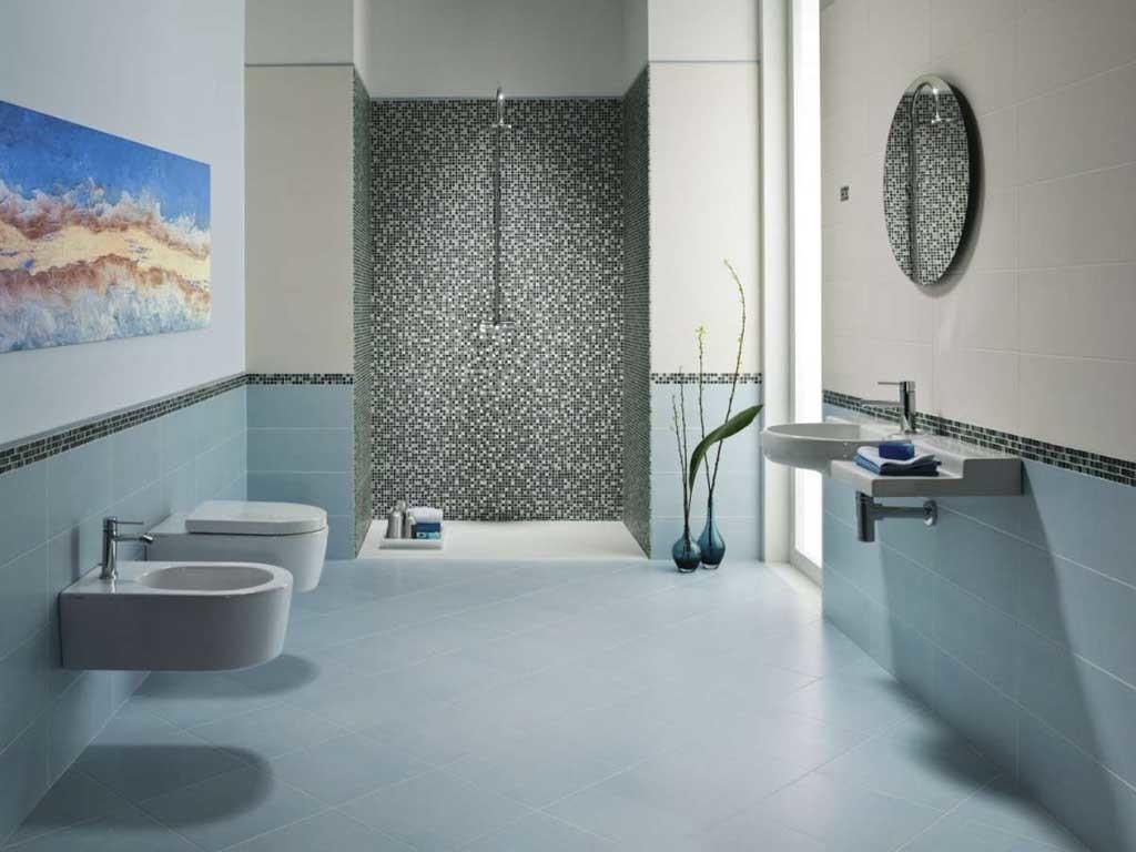 Il bagno in calabria arredarlo richiamando le bellezze di - Bagno moderno piastrelle ...