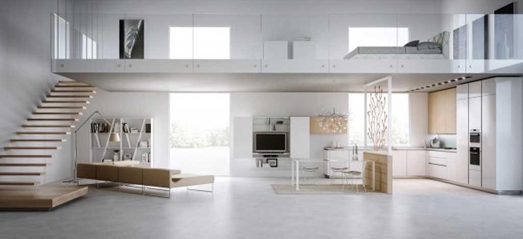 Loft in stile moderno