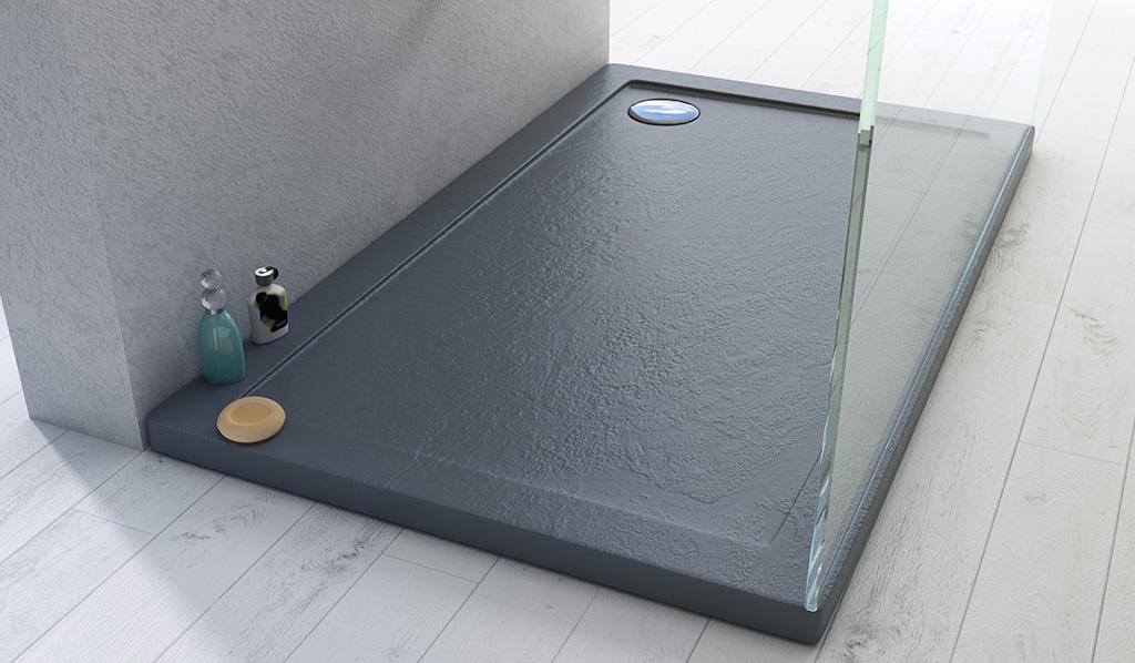 Piatti doccia effetto pietra la nuova tendenza di design - Posare un piatto doccia ...