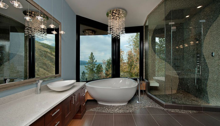Come ristrutturare il bagno in una villa di lusso - Blog Stile Bagno