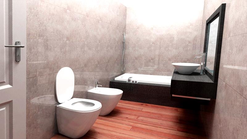 Colore piastrelle bagno piccolo. beautiful idee bagni moderni da