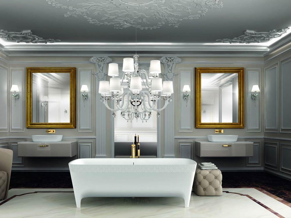 Bagni Di Lusso Foto : Come ristrutturare il bagno in una villa di lusso stile bagno