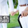Agevolazione IVA al 4% per disabili
