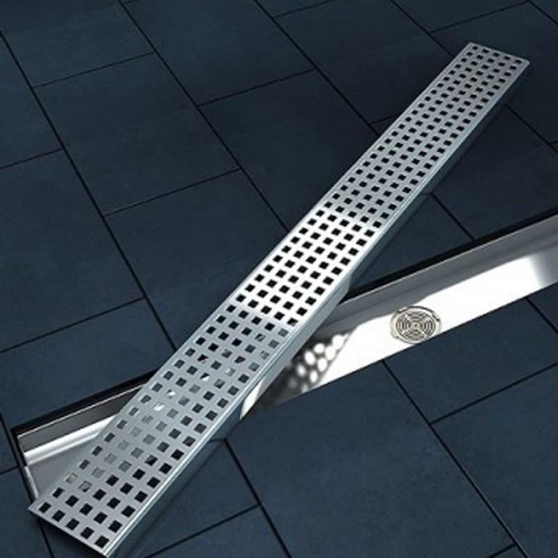 Canalina di scarico doccia in acciaio inox